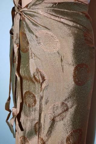 Új Indiai selyem lapszoknya